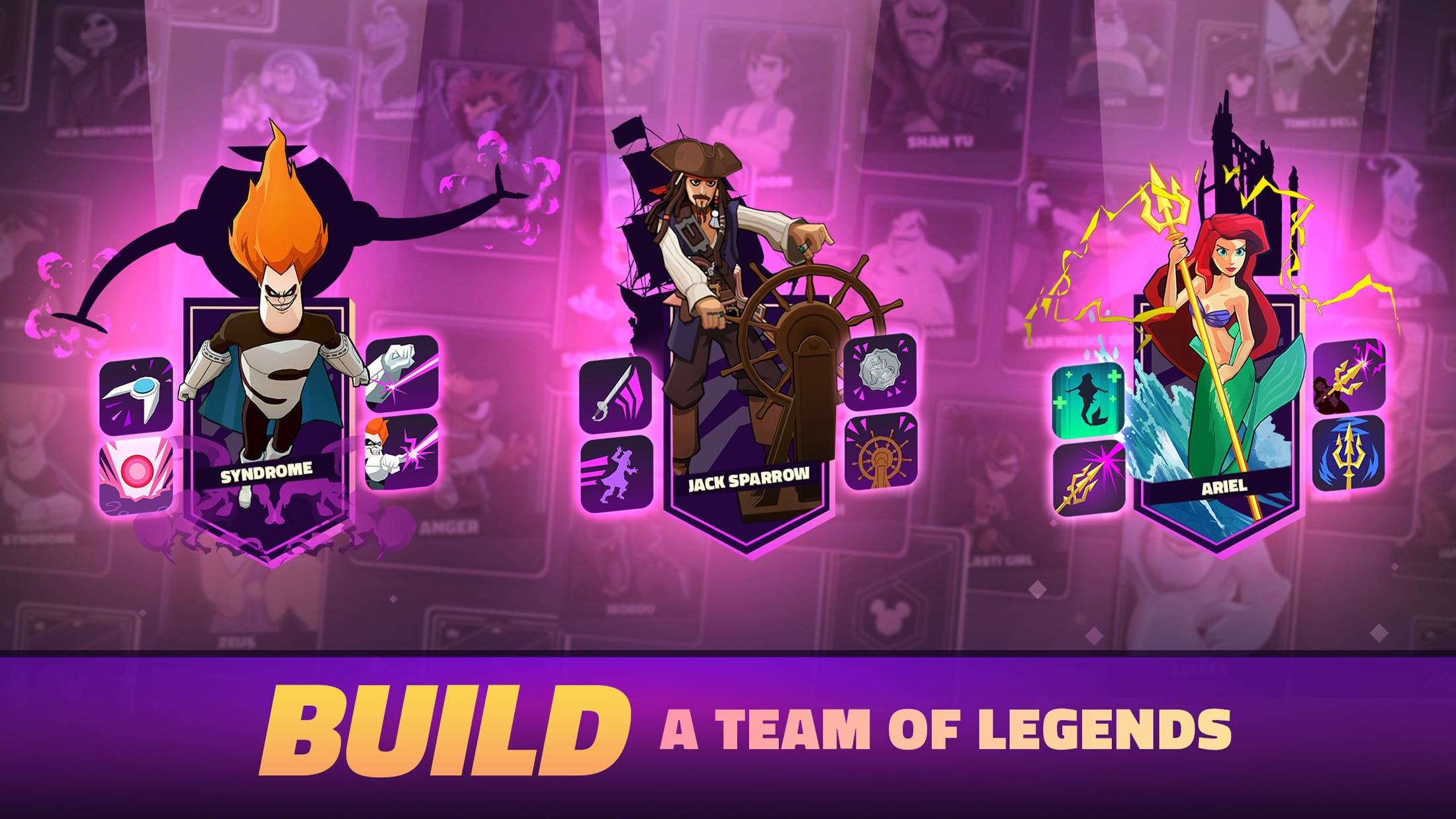 Build a team of legends